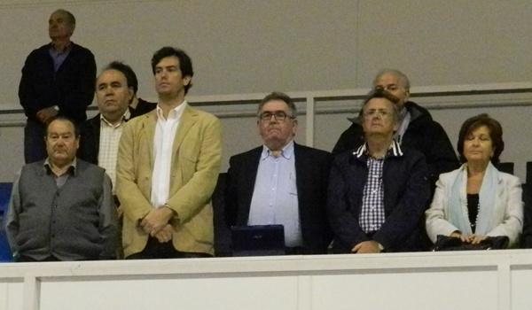 El presidente de Unicaja habló tras el 2-3 de CMA Soria en el Moisés Ruiz