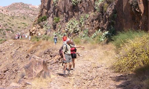 El sendero La Ragua - Aldeire sustituyó al de Ferreira, que tenía caza