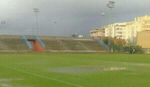 Inundaciones en Málaga y suspendido otro partido del Huércal en Tercera División