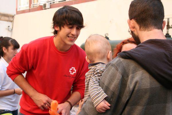 Voluntario Cruz Roja