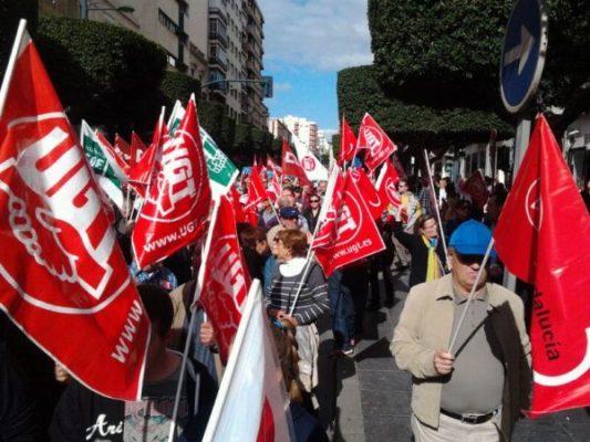 Manifestación 14N Almería