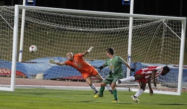 El juvenil de la UD Almería B dio el triunfo ante La Hoya Lorca
