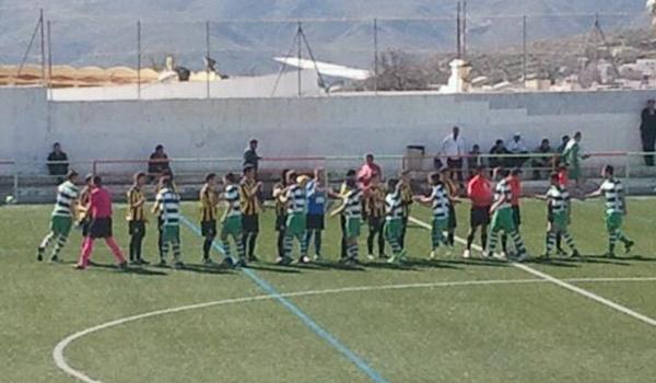 El equipo almeriense hizo buen juego ante el Huétor Tájar en Primera División Andaluza