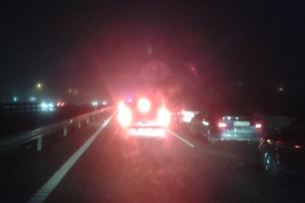 Choque múltiple en la Autovía del Mediterráneo provincia de Almería