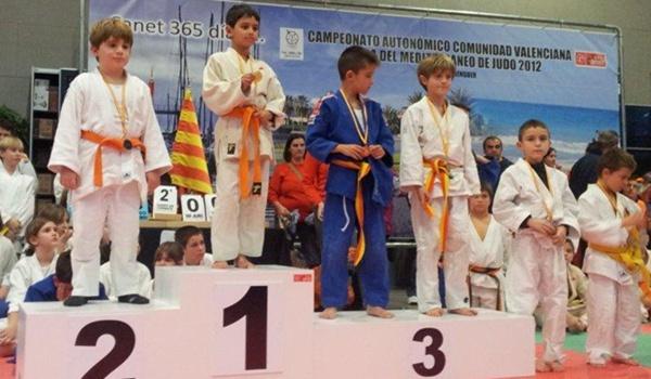 Dos podios ha conseguido el club de judo de Adra en la Liga Mediterránea
