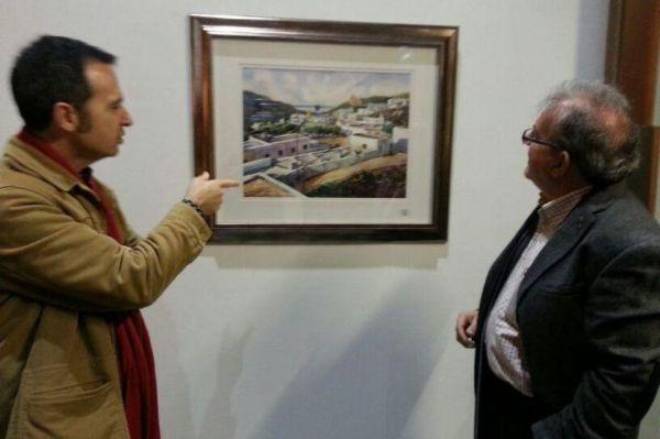 Acuarelistas en Vícar