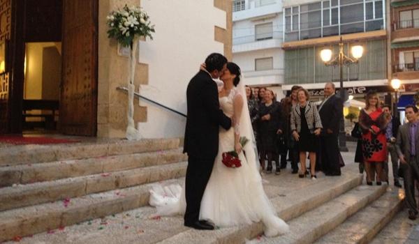Pareja de ajedrecistas de Roquetas de Mar (Almería) terminan por casarse