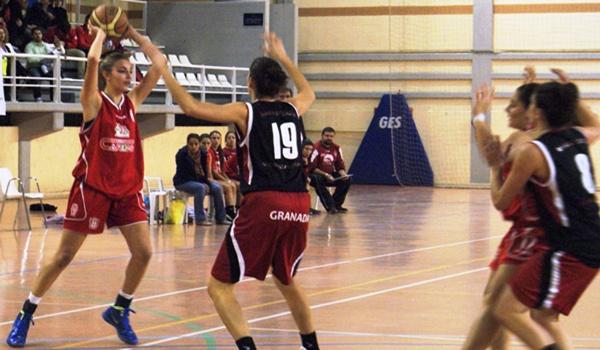 Las chicas de La Alegría del Sur cayeron ante el Ramón y Cajal de Granada en Primera Nacional de baloncesto femenino