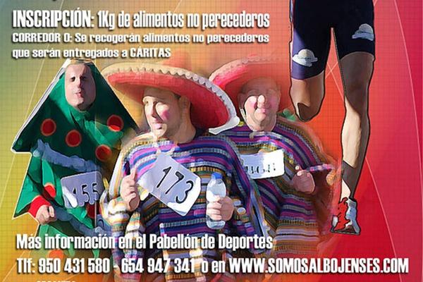 Inscripción de esta carrera popular de la provincia de Almería consistente en un kilo de alimentos no perecederos
