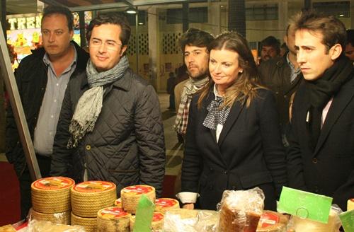 La noche en blanco en la localidad del poniente de Almería tuvo sabor a queso