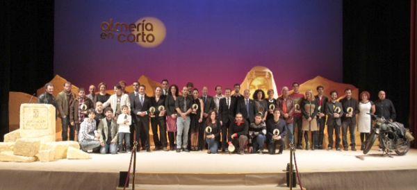 Gala clausura Almeria en Corto