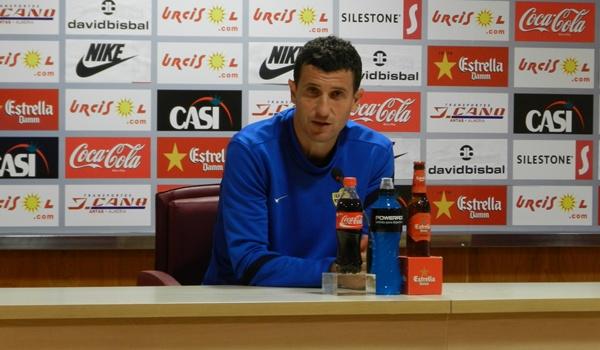 El entrenador del Almería ha hablado de la última jornada del año 2012 en la Liga Adelante