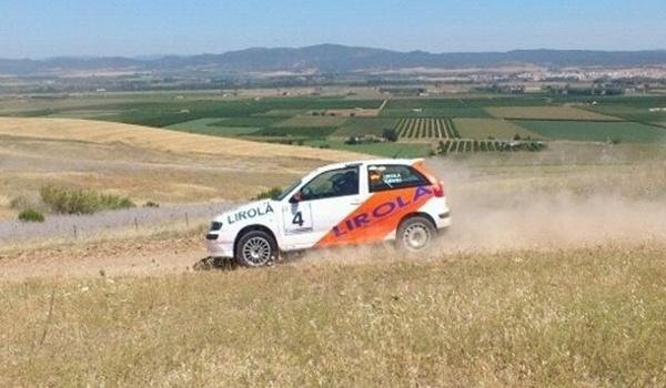 Equipo campeón de Andalucía de Rallye en Totana