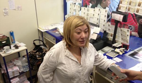 La administración abderitana ha vendido décimos del quinto premio 22.343 de la Lotería de Navidad