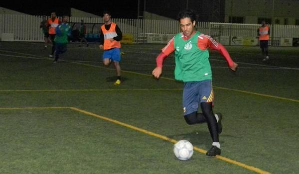 La Federación Almeriense de Fútbol prepara su equipo para medirse a la UD Almería