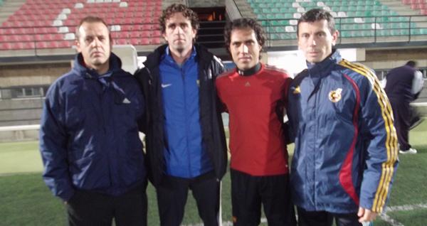 Pepe Koscis, Ortega, Ortíz Bernal y Ángel López son los técnicos de la Selección de Fútbol de Almería