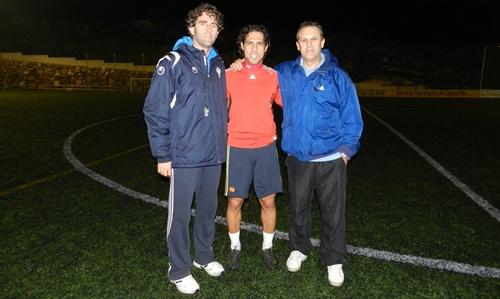 Ortiz Bernal jugará por primera vez ante su Almería dirigiendo con Koscis y con Ortega a la Selección de Almería