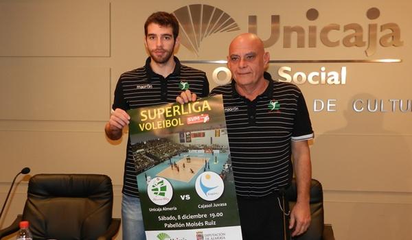 Unicaja Almería ha presentado su defensa del liderato de la Superliga ante Cajasol