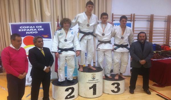 Bronce en la Supercopa de España de Judo para un alumno de la Escuela Municipal de Almería