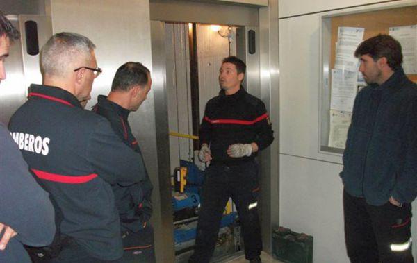 curso rescate en ascensores