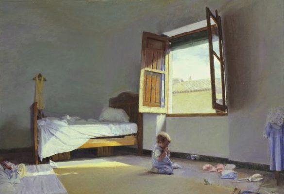 La obra realista de Golucho se quedará hasta el 24 de febrero en el Museo Casa Ibáñez
