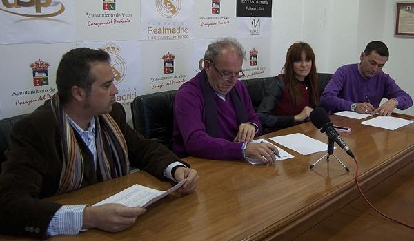 Vícar será el primer municipio de Almería que acogerá un campus de la Fundación Real Madrid