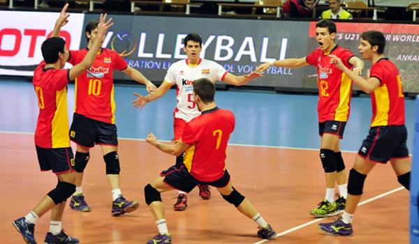 El voleibol juvenil español no pudo lograr pase para el campeonato de Europa