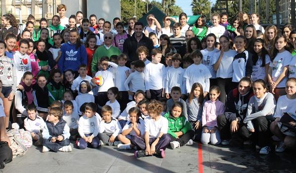 DKV Seguros llevó el voleibol al centro de la ciudad de Almería