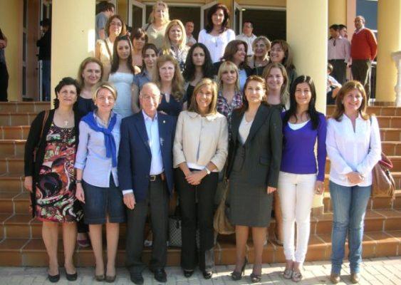 Gabriel Amat y las mujeres del PP