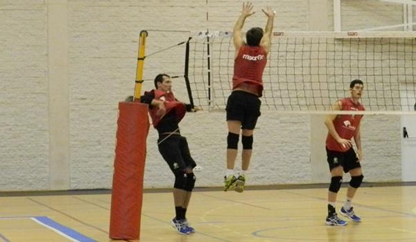 El capitán de Unicaja Almería quiere sumar a su palmarés la Copa del Rey de Voleibol