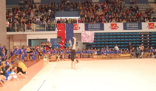 Los Juegos Deportivos Municipales de Almería tienen también gimnasia