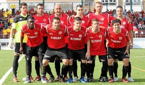 El equipo de fútbol es de Almería pero milita con el de Pulpí en Tercera de la Región de Murica