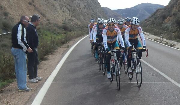 La escuadra de Almería ya entrena