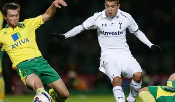 El jugador del Tottenham vendrá cedido al Almería de Liga Adelante