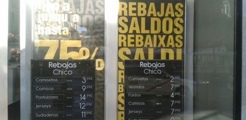 Descuentos de un 75% en Almería capital