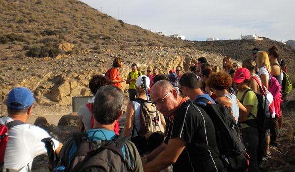 El Patronato Municipal de Deportes de Almería inicia su año senderista con mayores