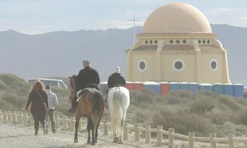 Romería por la Virgen del Mar en Almería