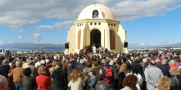 La primera romería del año en toda España se hace en Almería en honor a la Virgen del Mar