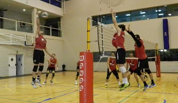 Unicaja no huye de su papel de favorito en la Copa del Rey de Voleibol