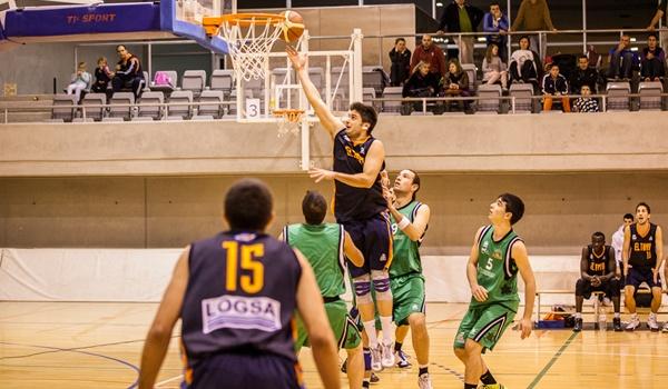 El equipo de Almería ganó al equipo de El Ejido en la Primera División Nacional de basket