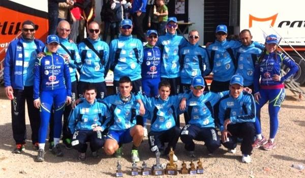 Éxito ciclista en Sierras de Moratalla para el equipo de Almería