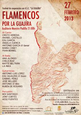 Flamencos por la Guajira