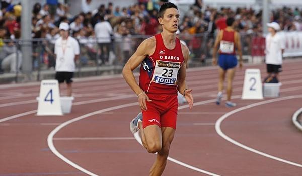 El atleta de Almería acude como campeón de Andalucía de los 800 metros