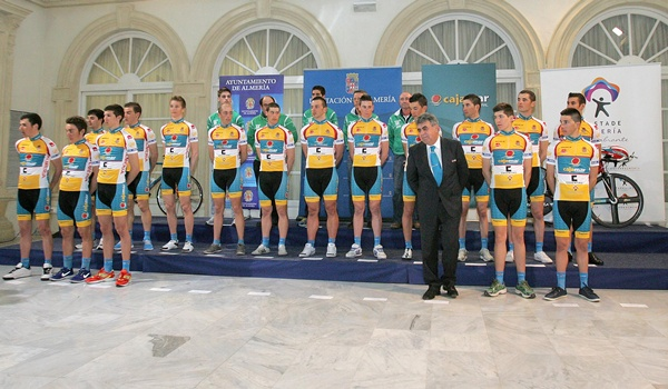 El ciclismo tendrá en la categoría previa a los profesionales a una gran escuadra almeriense