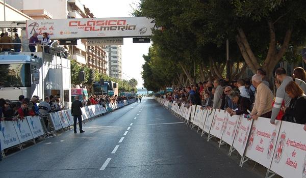 La prueba de Almería tiene un amplio recorrido por la capital