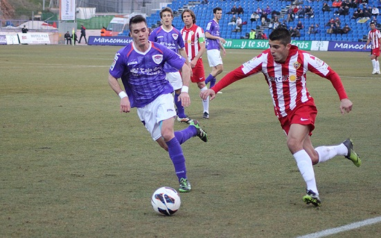 El Almería ha empatado en el campo Pedro Escartín de la ciudad manchega