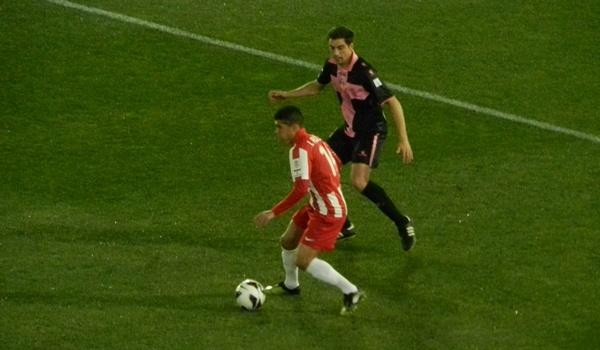 El jugador cedido por el Tottenham al Almería deslumbró ante el Sabadell