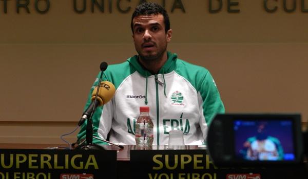 Desde Venezuela a Almería para jugar en al Superliga de Voleibol de España