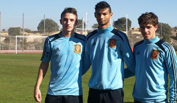 El equipo de la Liga Adelante aporta tres jugadores a La Roja