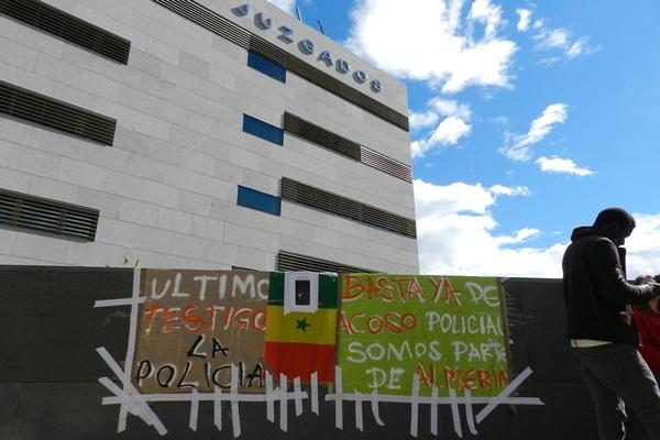 Archivadas las diligencias por la muerte del senegalés Max tras huir de la Policía en Almería